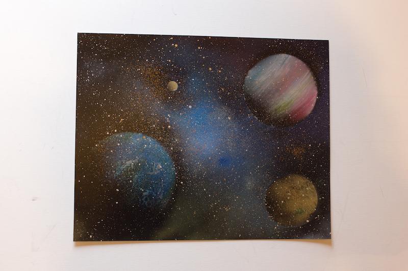 Space (額入り特別作品)