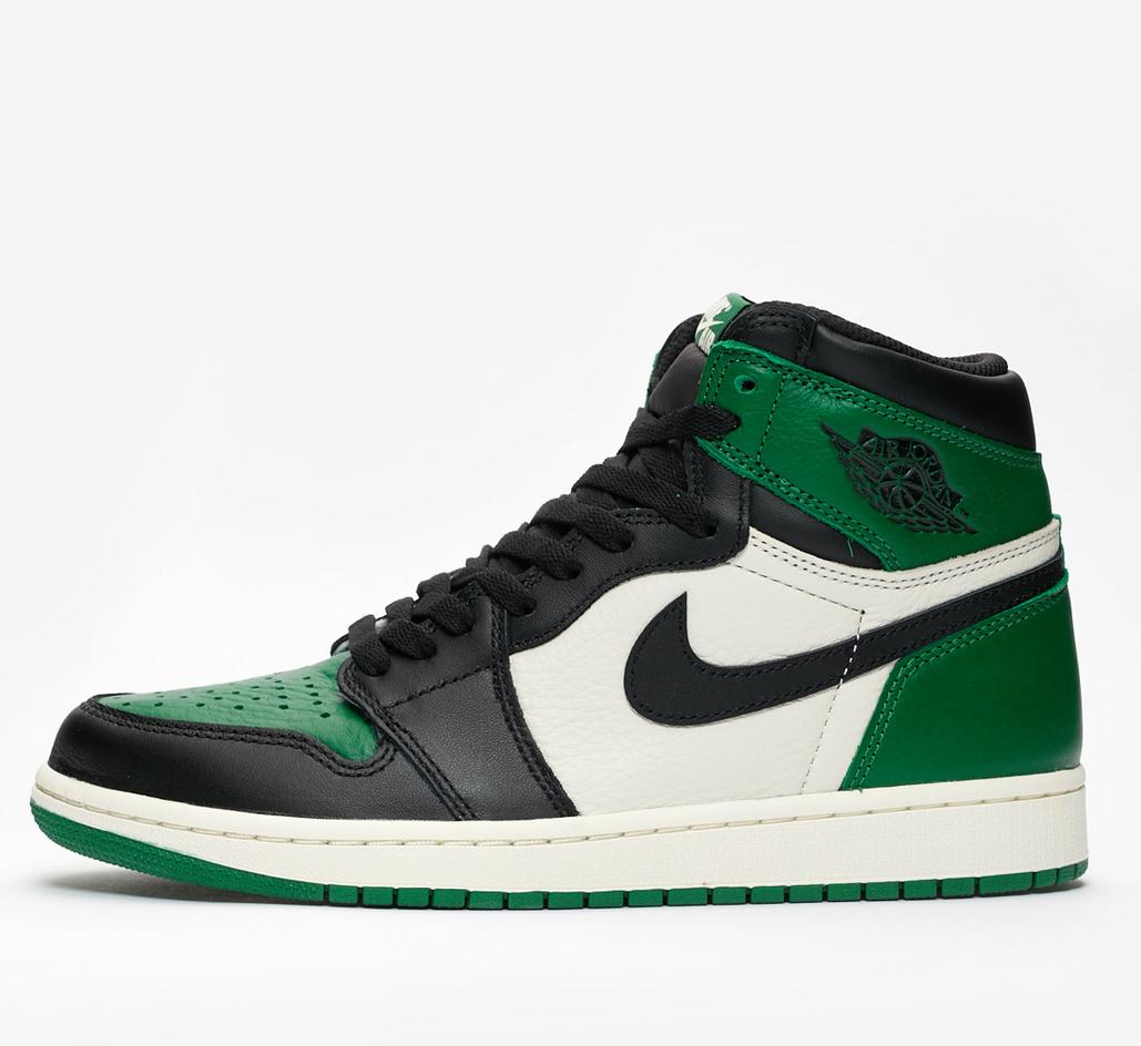 Nike Air Jordan 1 Retro High OG Pine Green