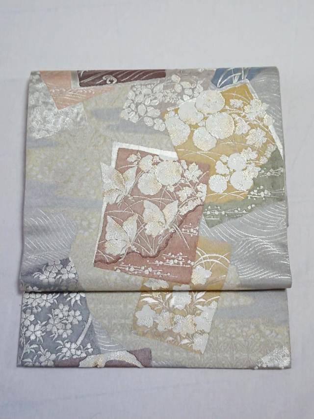 手札柄 金糸袋帯