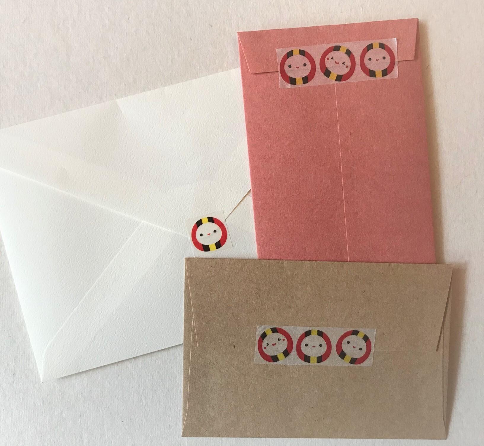 マスキングテープ(コロコロなるま 白)