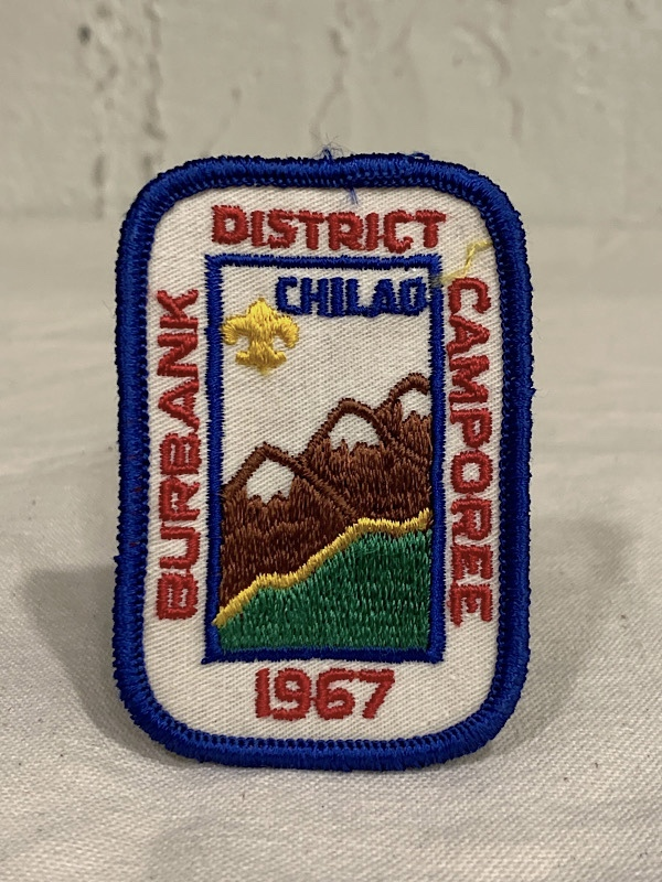 "PATCH "" BURBANK DISTRICT CAMPOREE 1967"""