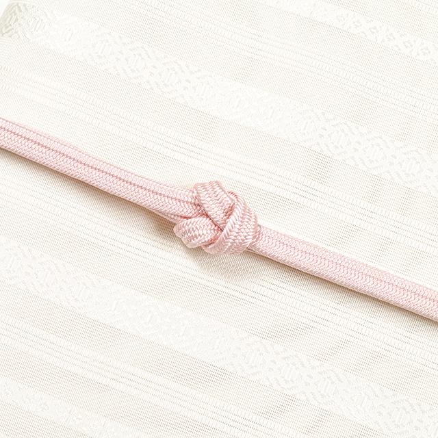 龍工房帯締め-冠組-桃色