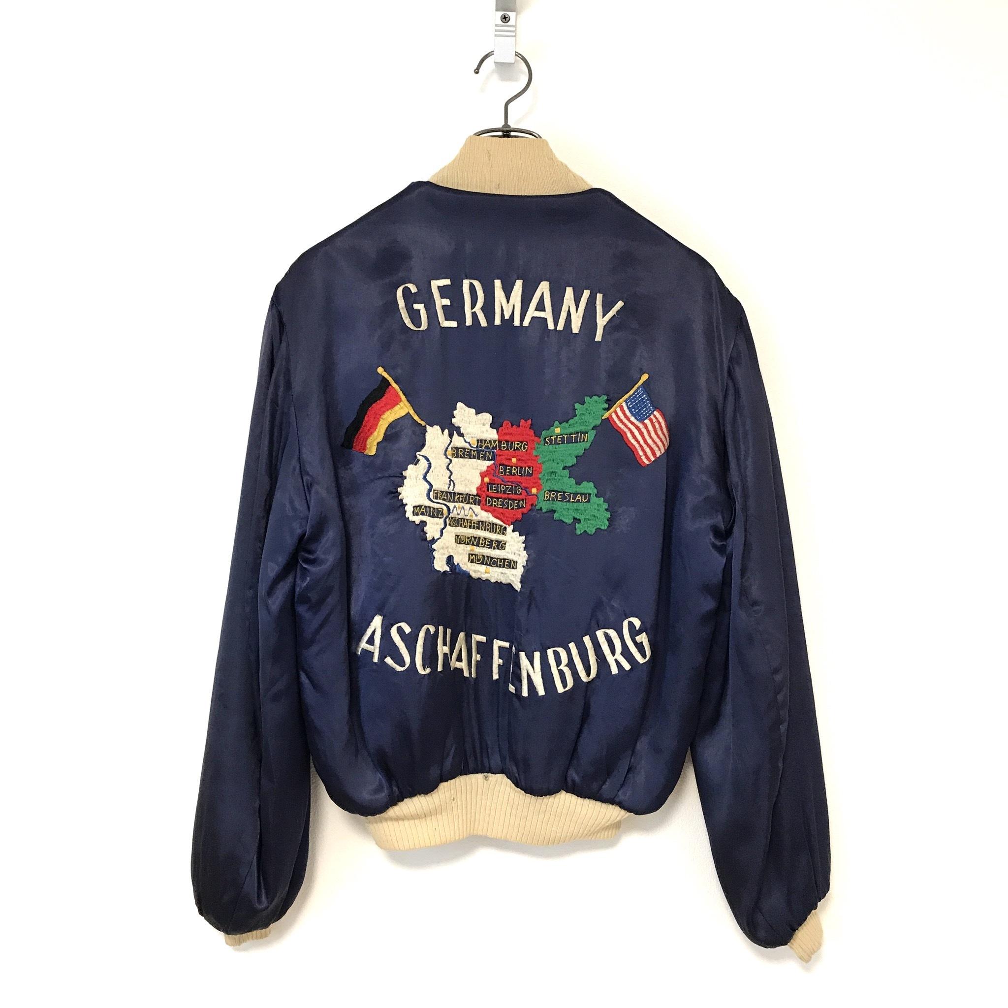 60's Germany Souvenir Jacket