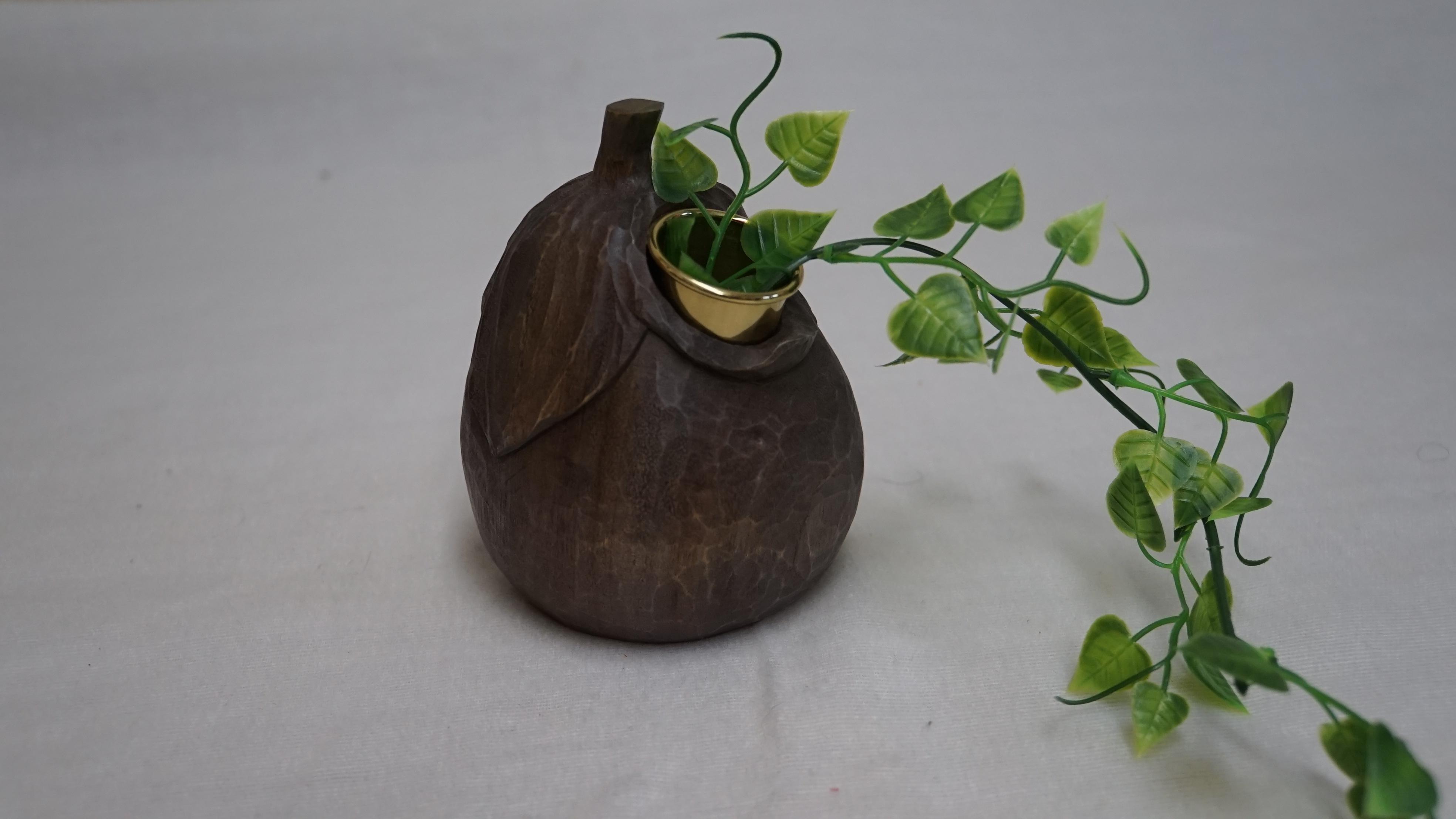 大和丸茄子の花器