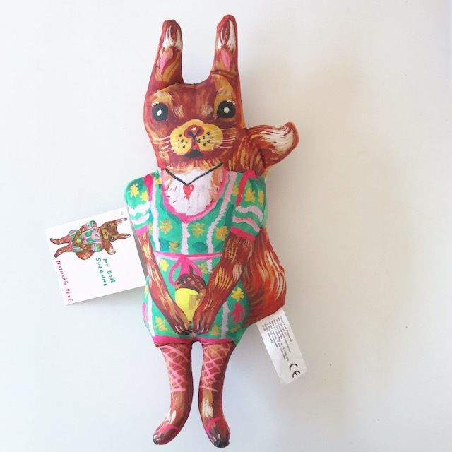 "Nathalie Lete ""My Doll Suzanne Squirrel Doll"" ナタリーレテ リス りす 人形 ドール"