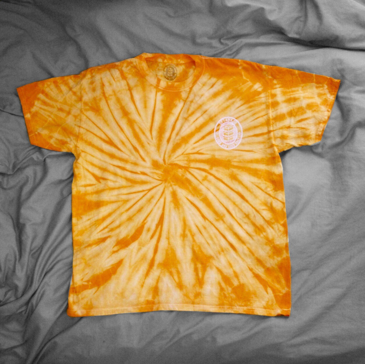 《40%OFF》TIE-DYE TEE [LEMON]