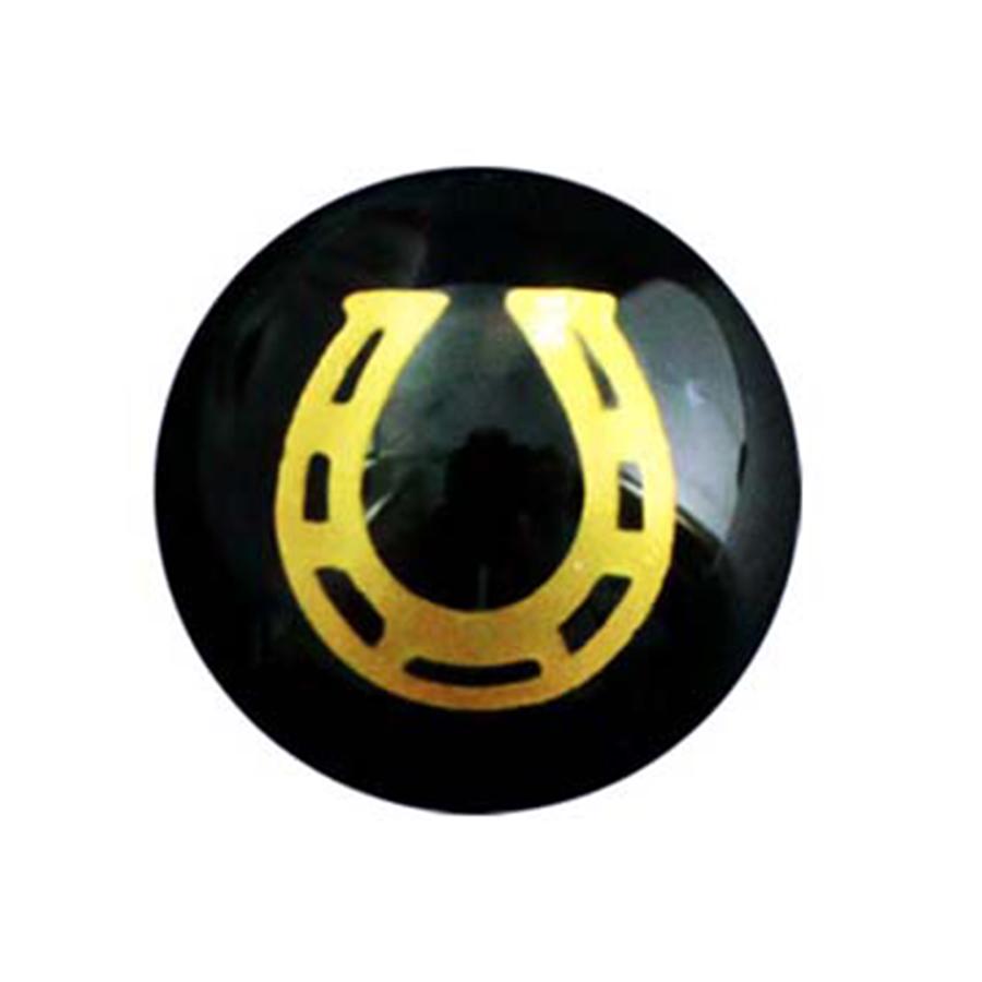 【開運の象徴・万事馬九】天然石 オニキス・タイガーアイ・シトリン 九頭馬・馬蹄ブレスレット(14mm-10mm)