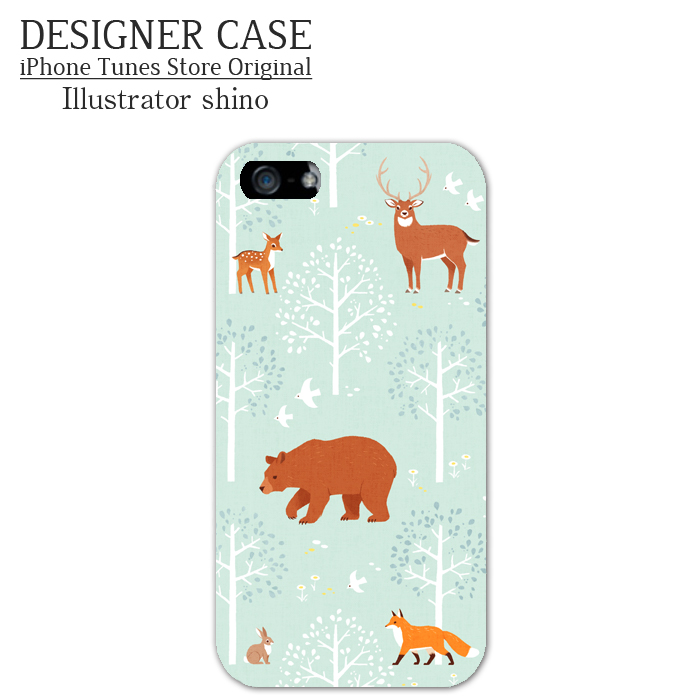 iPhone6 Soft case[Mori no doubutsu] Illustrator:shino