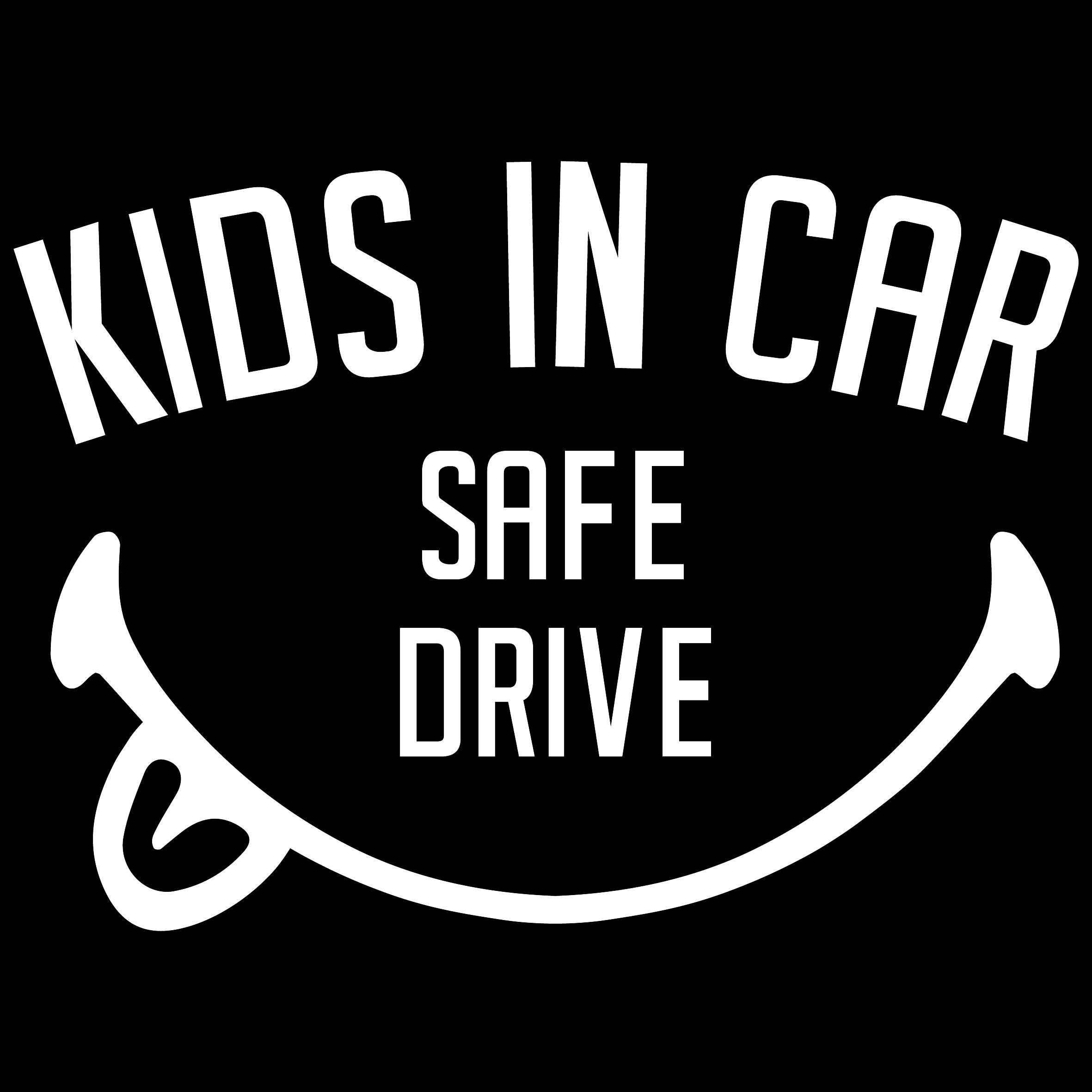 """KIDS IN CAR"" ステッカー"