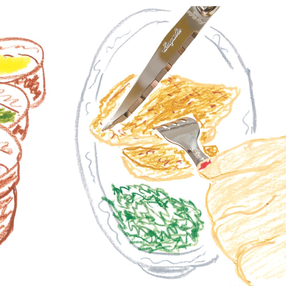 ジャンデュボ ライヨール:ステーキナイフ