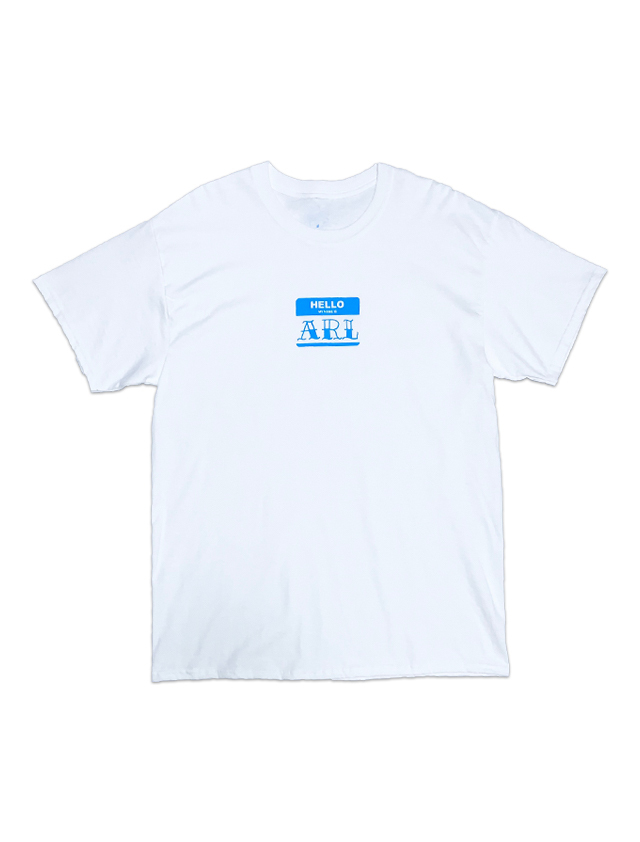LIMITED NOVELTY TEE white-lightblue
