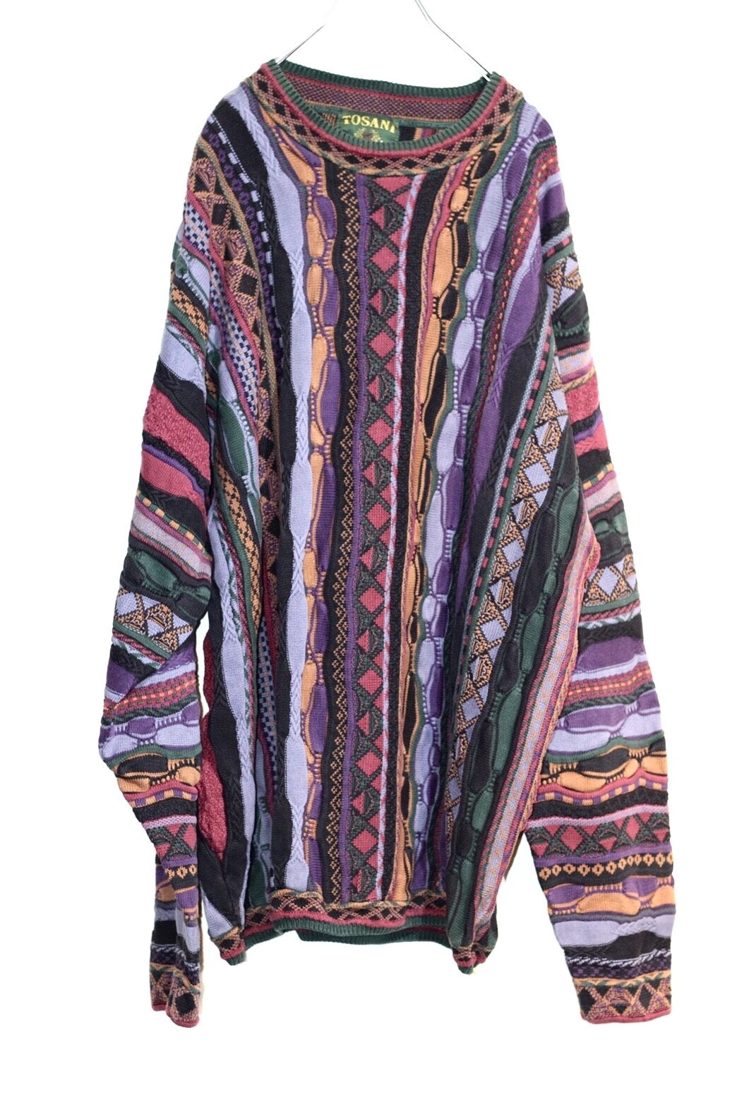 coogi pattern knit