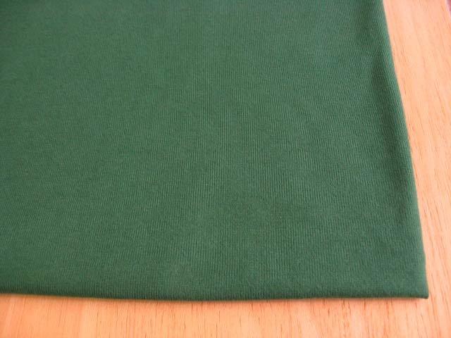 J&B定番 綿30双糸スーパー度詰天竺 ミネラルグリーン NTM-2511