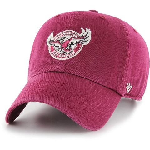 Manly Sea Eagles CLEAN UP Cap Red
