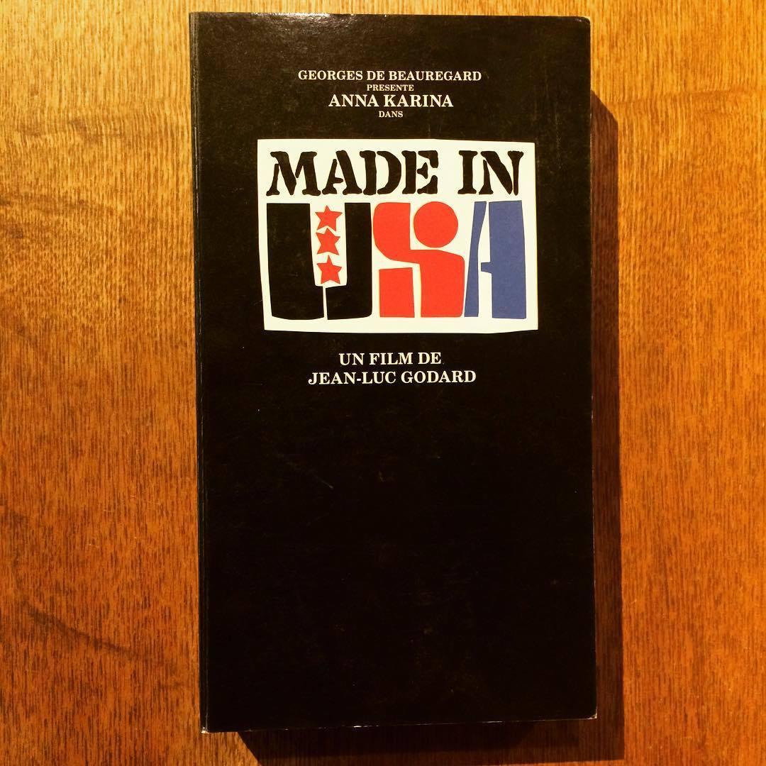 映画パンフレット「MADE IN U.S.A./ジャン=リュック・ゴダール 」  - 画像1
