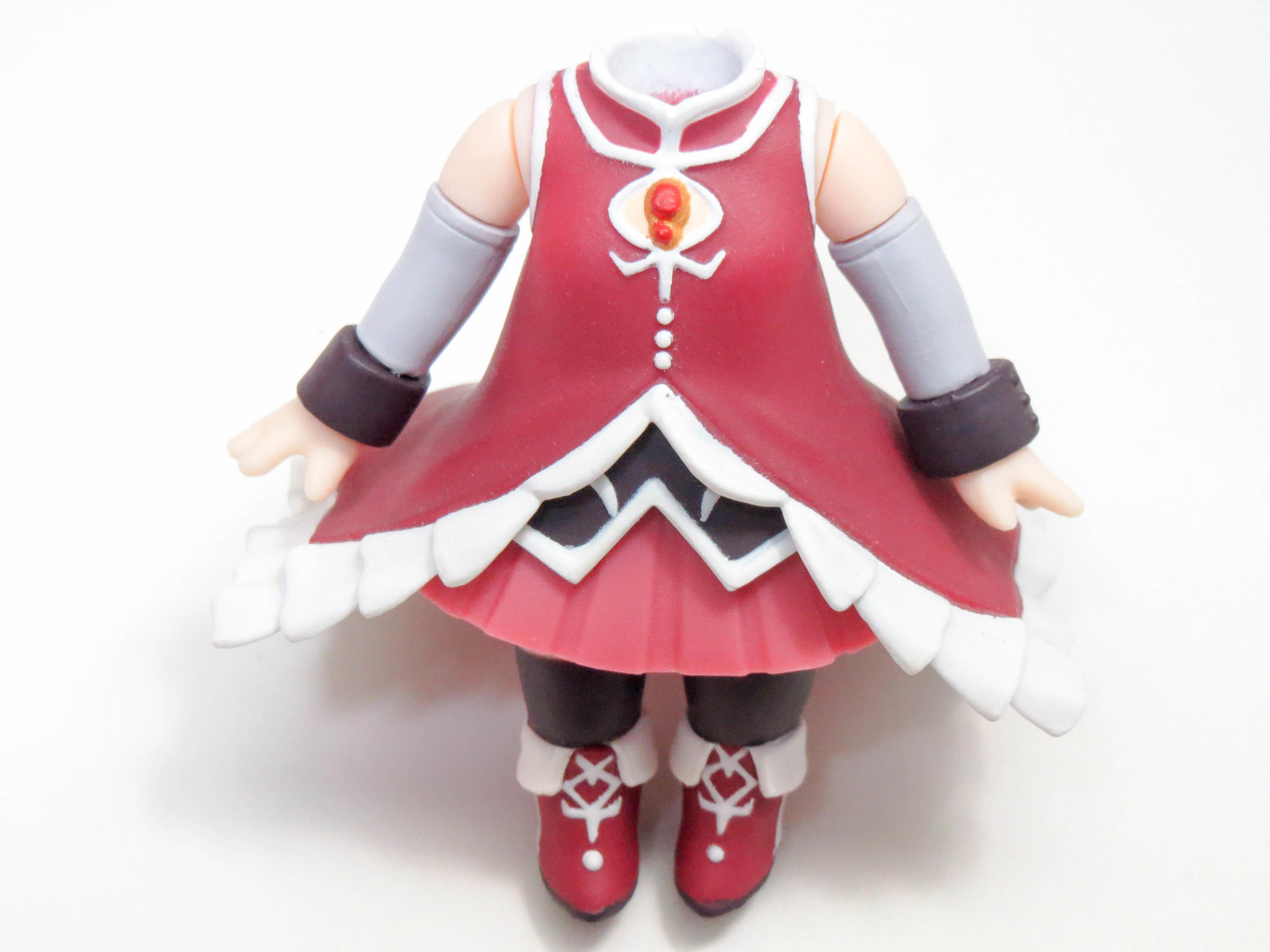 【217】 佐倉杏子 体パーツ 魔法少女の服 ねんどろいど