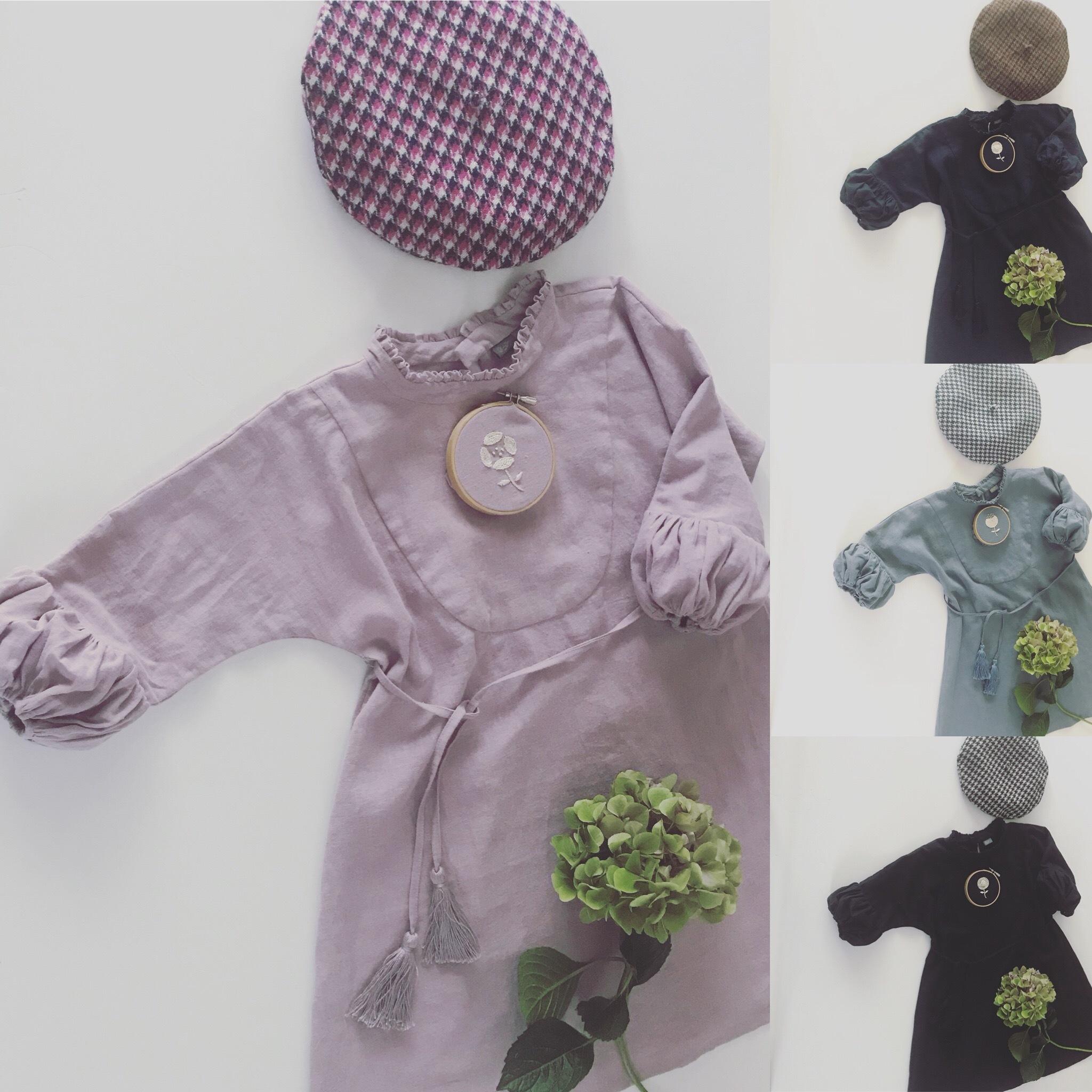 【オプション】お花の手刺繍