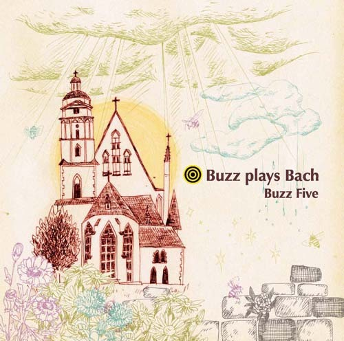 「Buzz Plays Bach」Buzz Five(WKCD-0058)