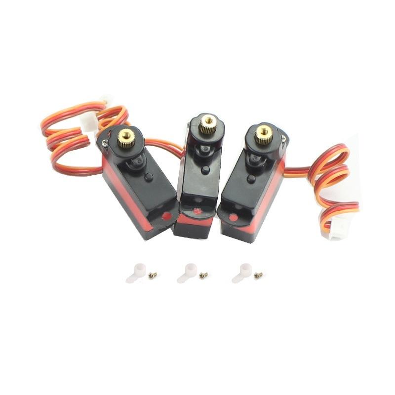 3個セット◆M03-009 メタルスワッシュサーボ、 M03&E160用純正メタルサーボ、K130にも適合します。