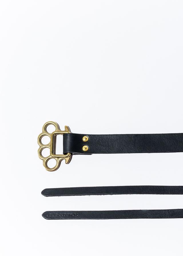 nahezu≒gleich / J.C belt black/brass black/black - 画像2