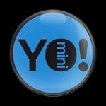 ゴーバッジ(ドーム)(CD0535 - YO MINI BLUE) - 画像1