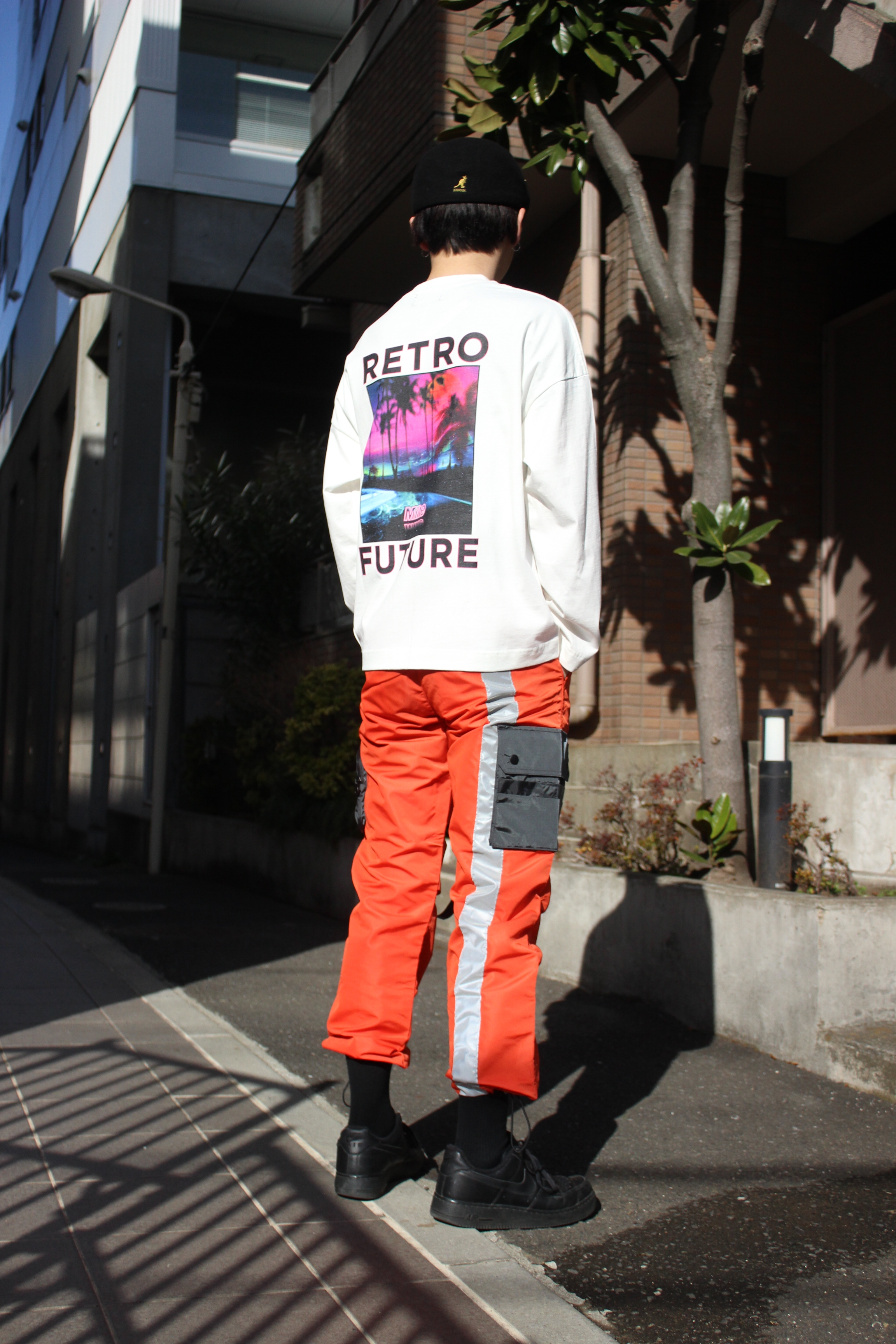 RETRO FUTURE L/S T-shirt / WHITE - 画像4