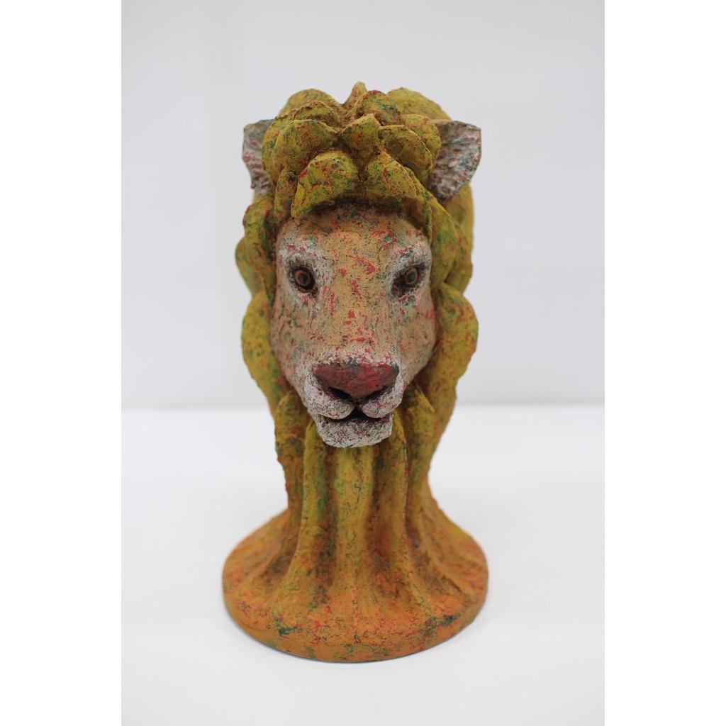 金丸悠児「草原の誇 -ライオン-」