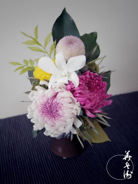仏さまの御花(5輪tallタイプ)