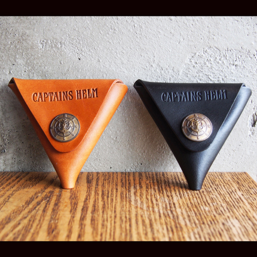 CAPTAINS HELM × BUTTON WORKS CH CONCHO LEATHER COIN CASE