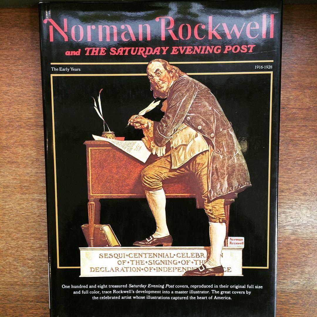 ノーマン・ロックウェル画集「Norman Rockwell & the Saturday Evening Post: The Early Years 1916-1928」 - 画像1