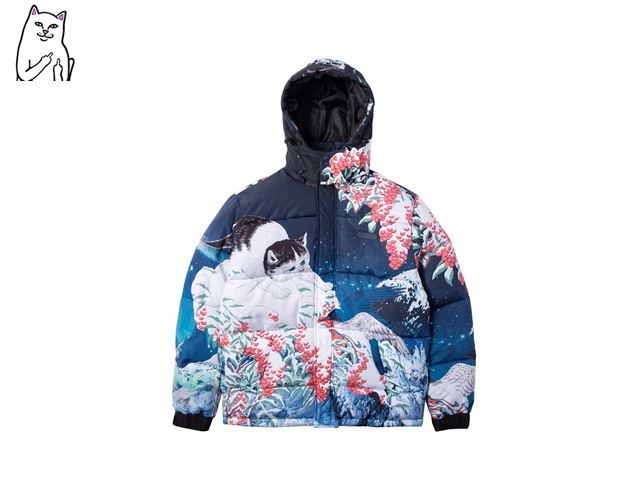 RIPNDIP|Snow Bird Puffer Jacket (Multi)
