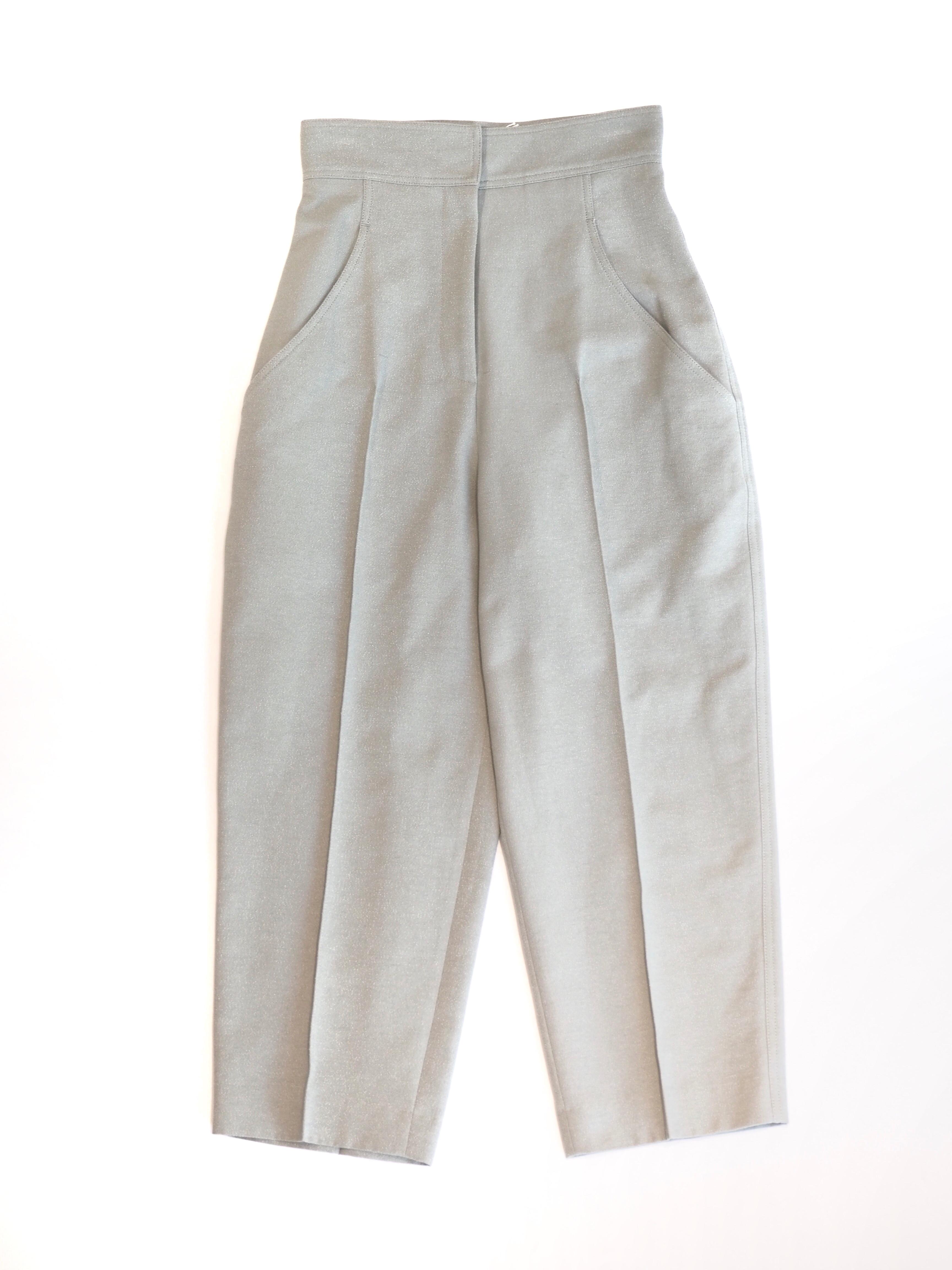 【ELIN】BOUCLE HIGH WAIST PANTS
