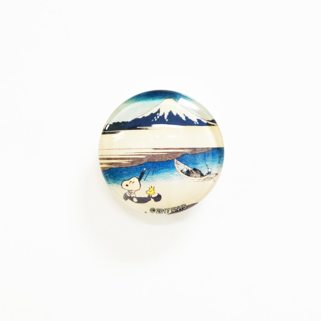 スヌーピー  クリスタルマグネット 武州玉川