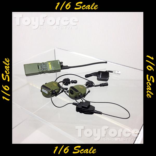 【02666】 1/6 Soldier Story Marine Raiders 無線機・ヘッドセット