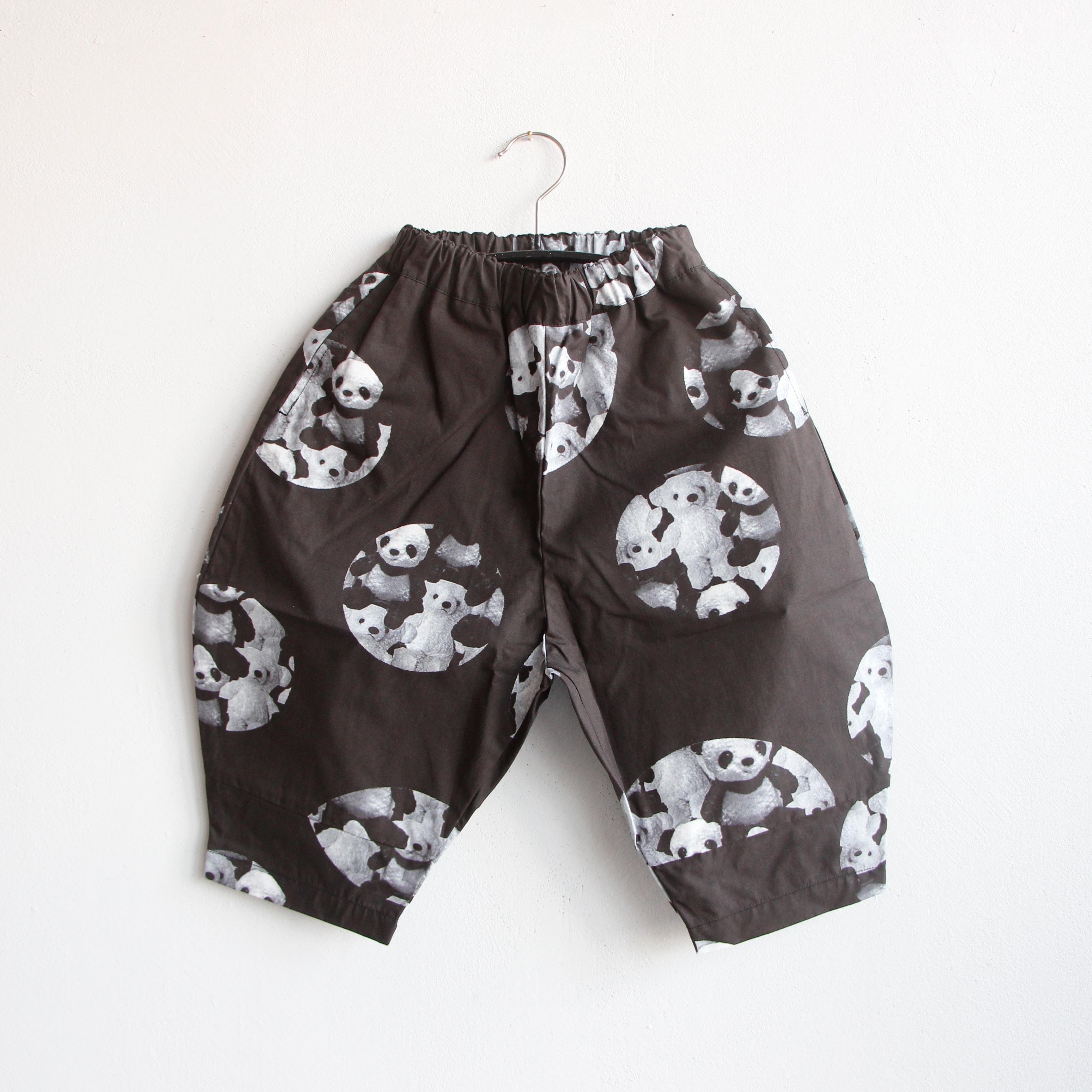 《frankygrow 2020SS》BIG PANTS / black / LL
