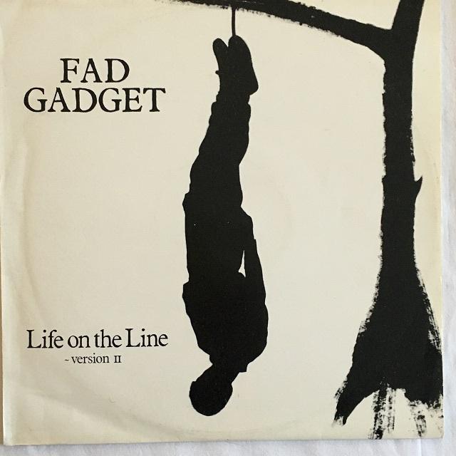 【12inch・英盤】Fad Gadget / Life On The Line (Version II)