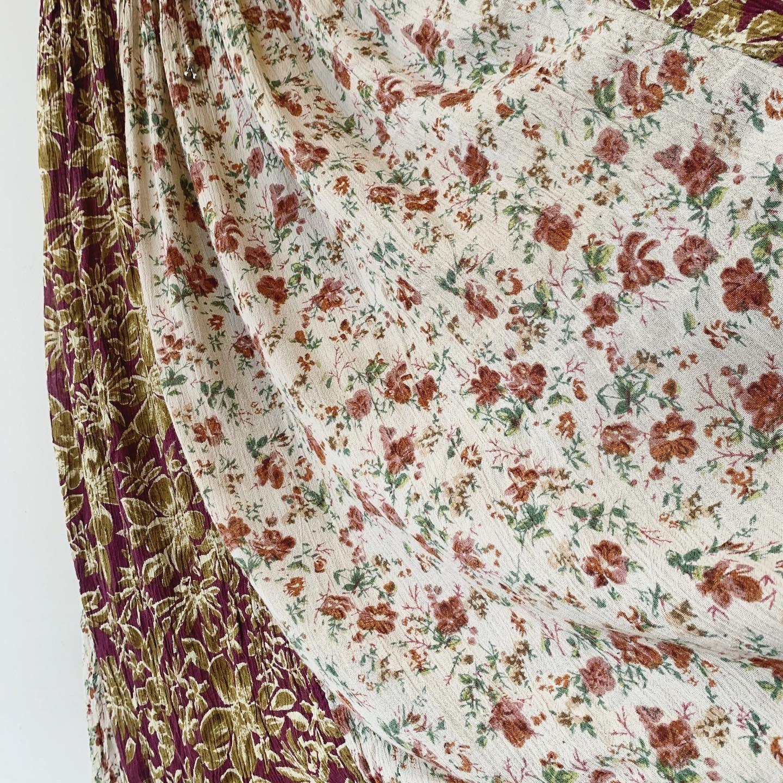 vintage viscose skirt