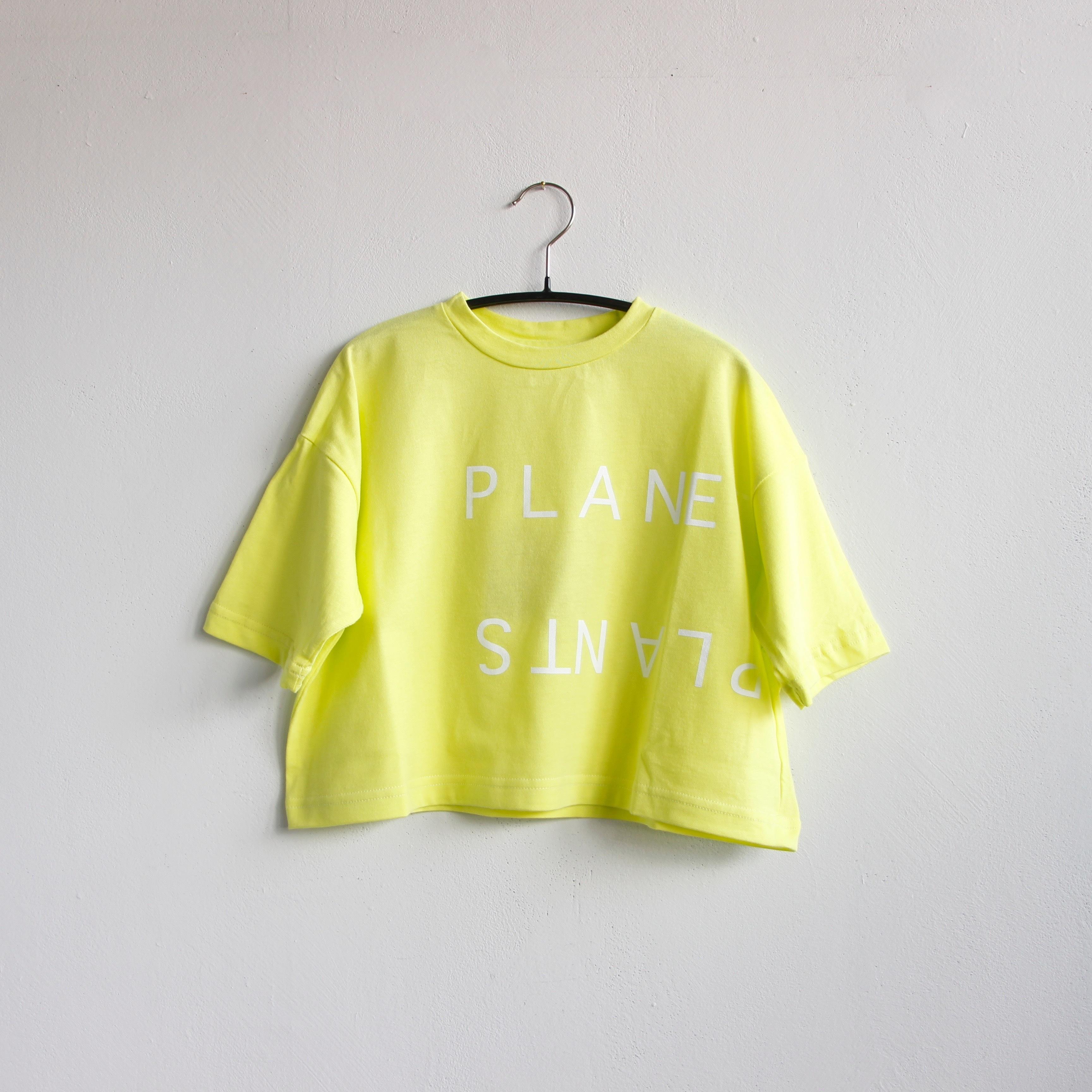 《michirico 2020SS》PP T / lemon yellow / S・M