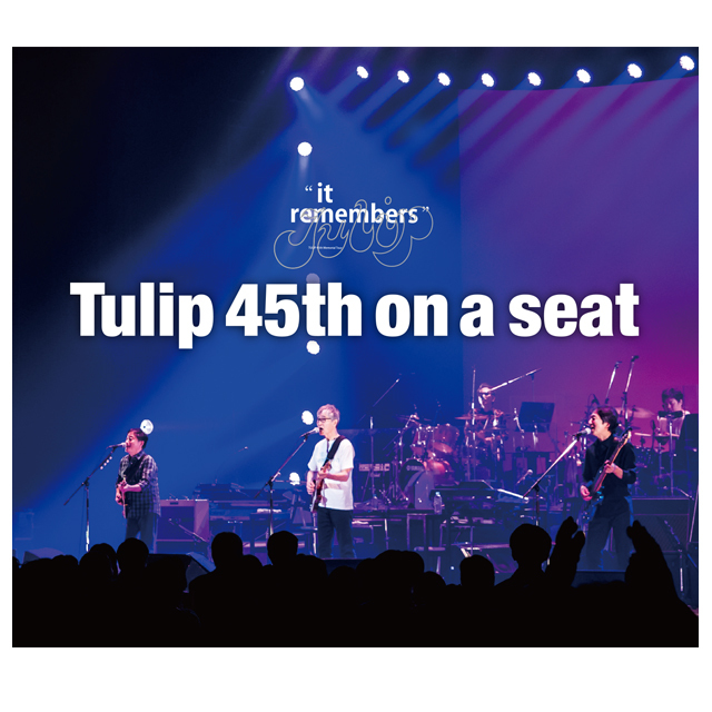 "Tulip 45th "" it remembers "" LIVE CD   on a seat - 画像1"