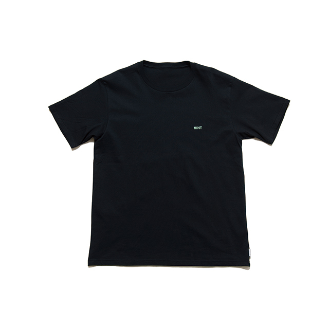 "SPICE COLOR PRINT TEE ""MINT"" - BLACK"
