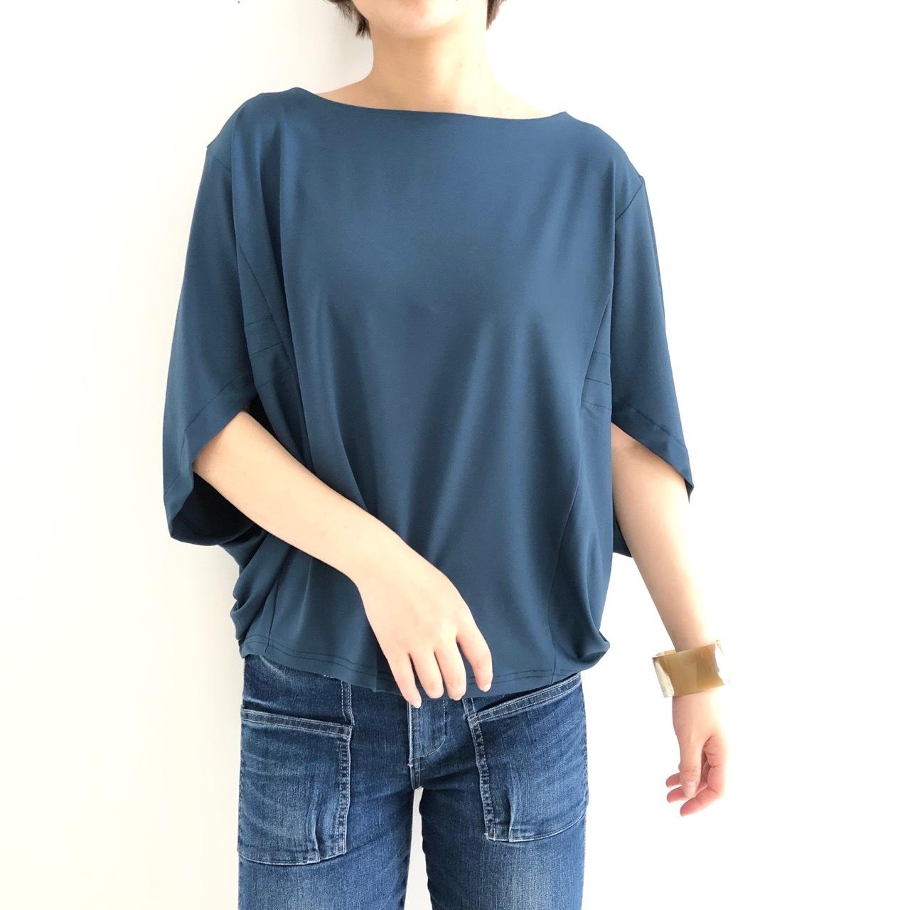 【 ROSIEE 】- 500242 - ドルマンスリーブTeeシャツ