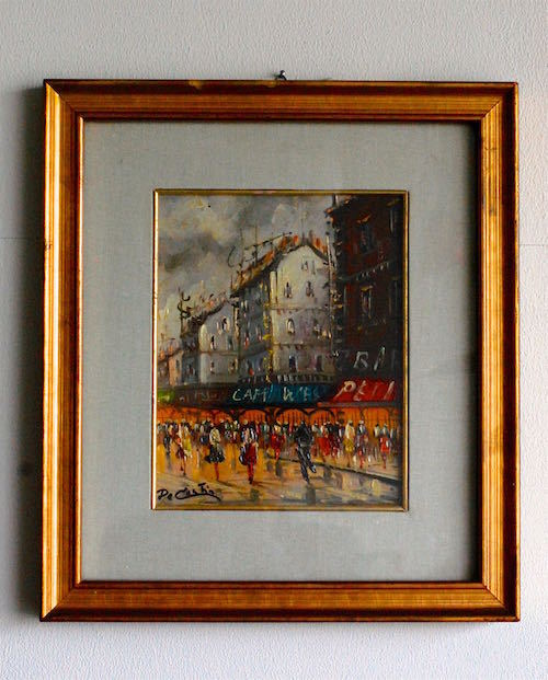 "Italian painting ""Paris"""