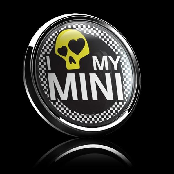 ゴーバッジ(ドーム)(CD0285 - I LOVE MY MINI 02 YELLOW) - 画像2