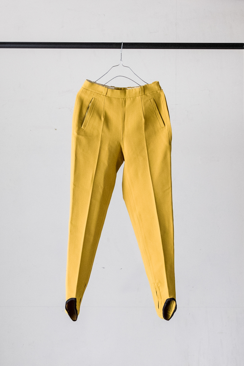 80's Ski Pants / Yellow Color