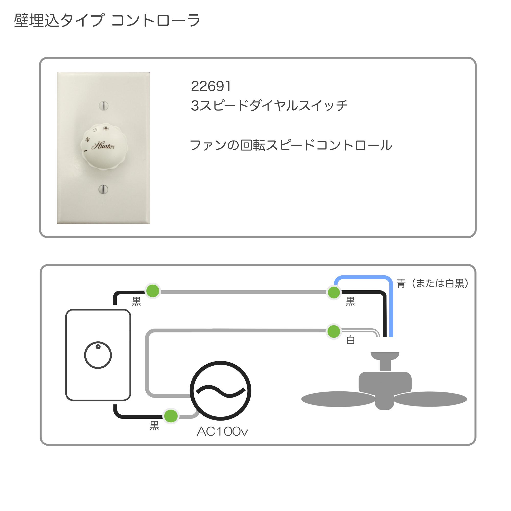 3スピード ダイヤル スイッチ ( 回転スピード切替専用)     - 画像1