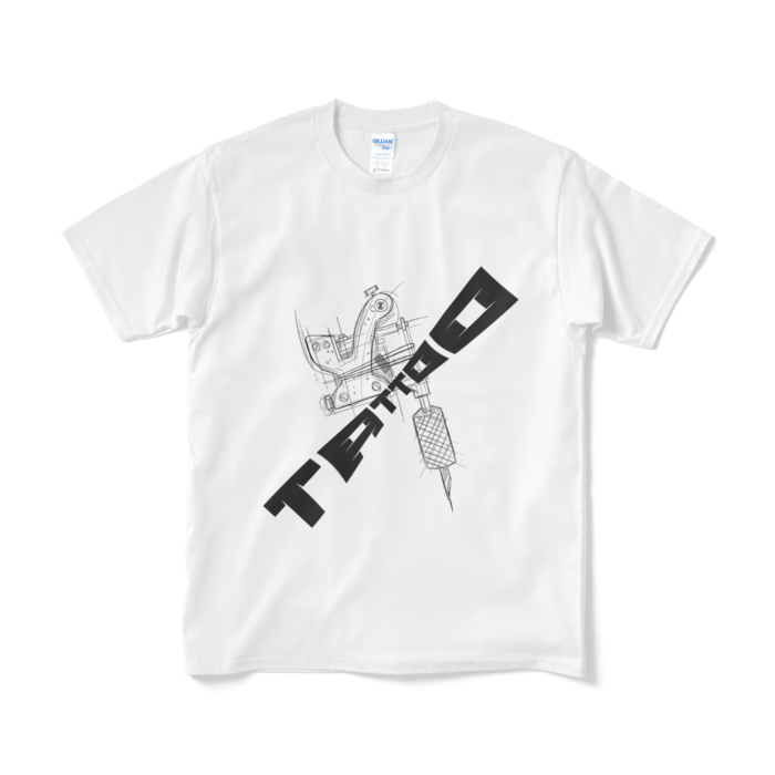 TATTOO オリジナルTシャツ 白