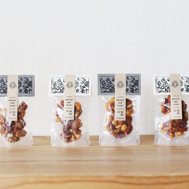 <プチギフト> NUTS! / 5個set