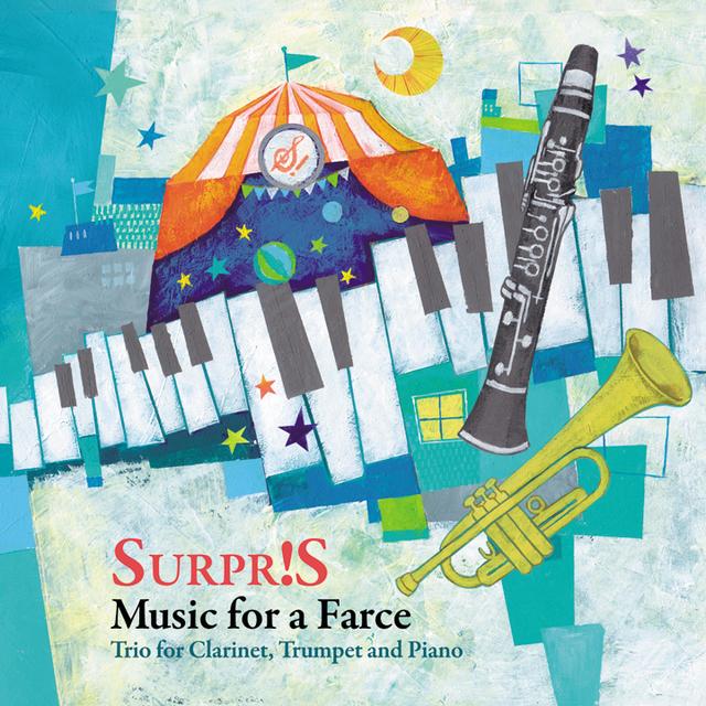【CD】道化芝居のための音楽 〜クラリネット、トランペットとピアノのためのトリオ〜