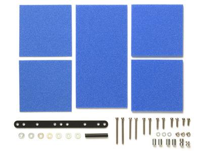 ブレーキスポンジセット(マイルド1/2/3mmブルー)