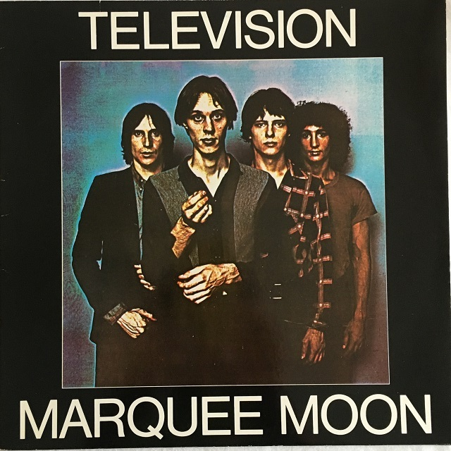 【LP・独盤】TELEVISION / Marquee Moon